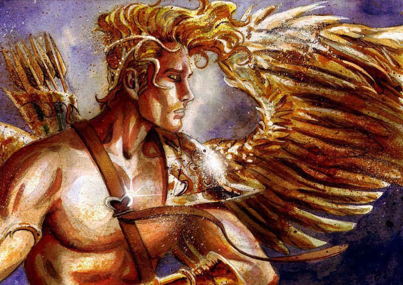 boh lásky Eros