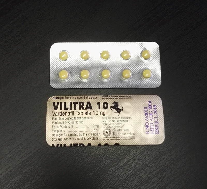 vilitra, generická levitra